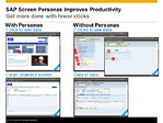 Defining the Value of SAP Screen Personas – User Productivity