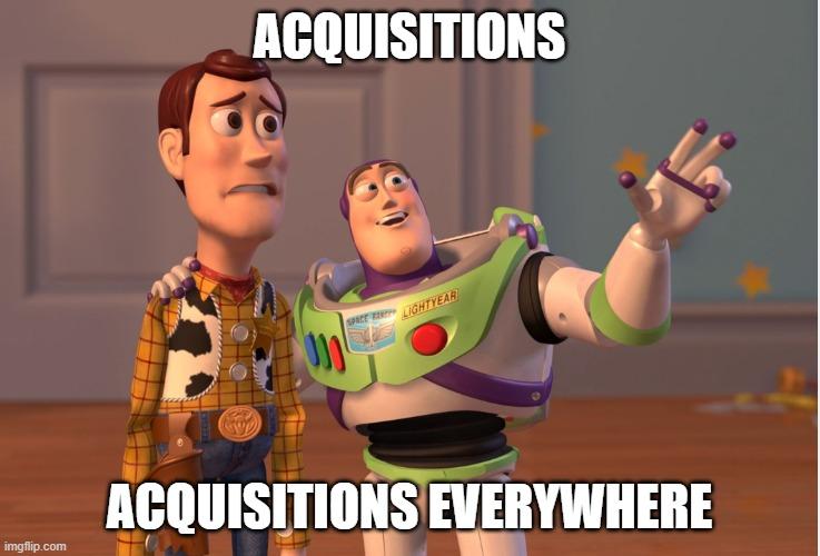 Acquisitions Meme