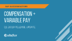 Q1 2019 Release Highlights: SuccessFactors Compensation & Variable Pay