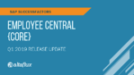 Q1 2019 Release Highlights: SuccessFactors Employee Central (Core)