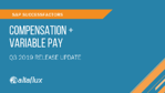 Q3 2019 Release Highlights: SuccessFactors Compensation & Variable Pay
