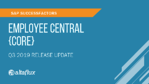 Q3 2019 Release Highlights: SuccessFactors Employee Central (Core)