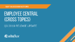 Q3 2019 Release Highlights: SuccessFactors Employee Central Integration (Cross Topics)