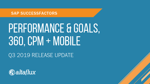 Q3 2019 Release Highlights: SuccessFactors Performance and Goals