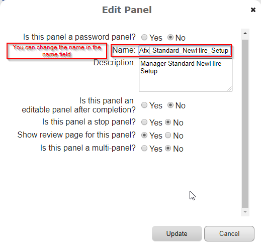 Custom SAP SuccessFactors Onboarding Panel 4.1