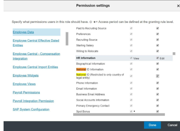 SuccessFactors Q2 Update Employee Central