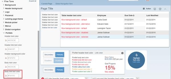 Editing SAP SuccessFactors People Profile Header Links