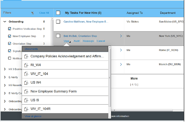 SAP SuccessFactors Onboarding Solution