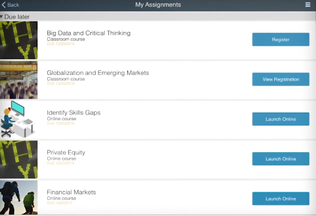 SuccessFactors Onboarding Assignments