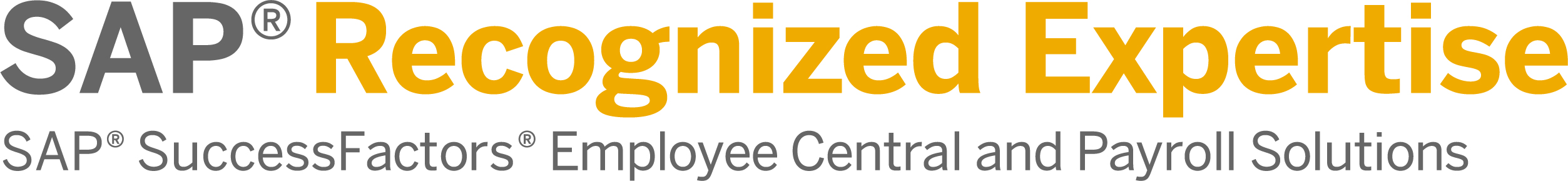 SuccessFactors Recognized Expertise Employee Central