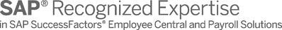 SAP Recognized Expertise SuccessFactors Employee Central Employee Central Payroll