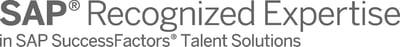SAP Recognized Expertise SuccessFactors Talent Solutions