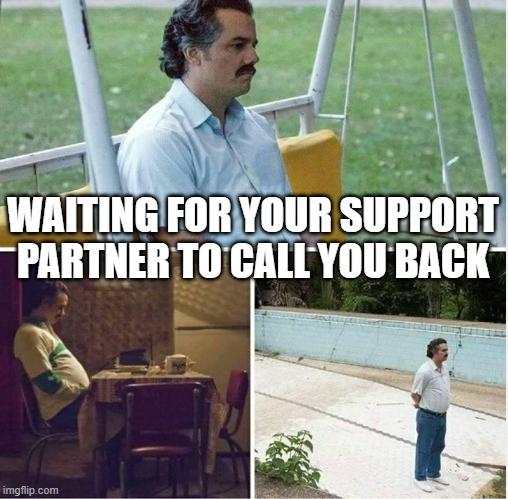 Waiting for Call Meme