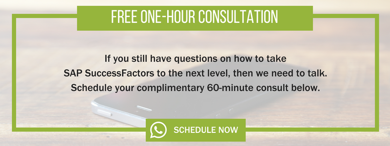 Free SAP SuccessFactors Consultation